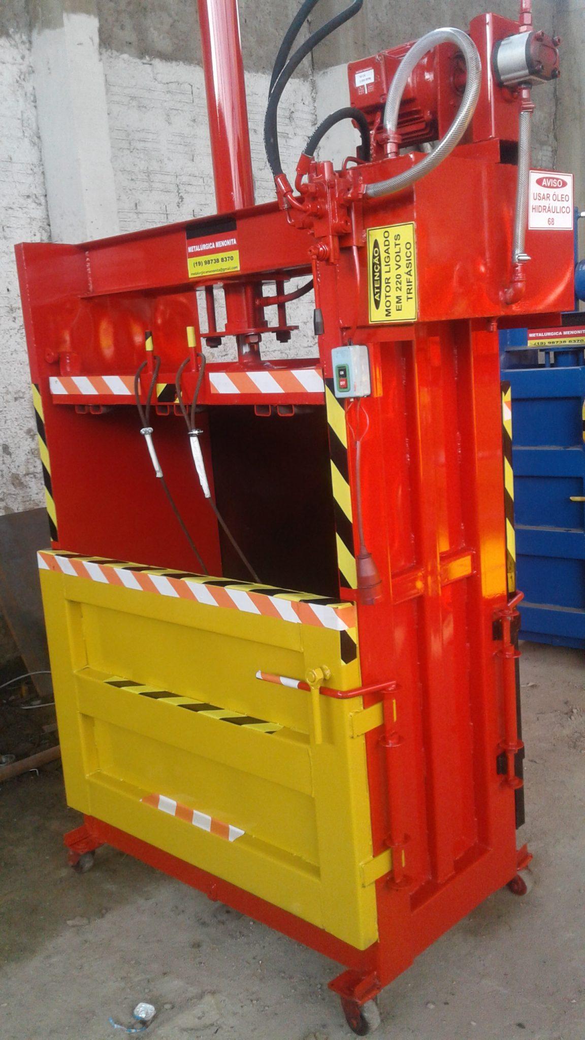 Prensa Enfardadeira Para Reciclagem 250