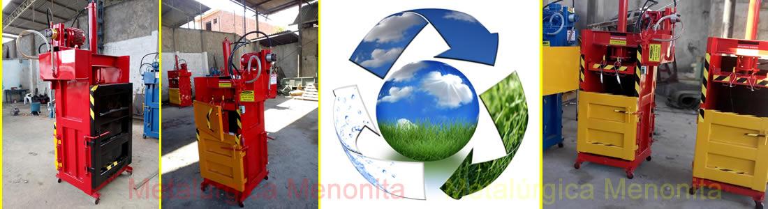 Imagem Prensa de Reciclagem EV50