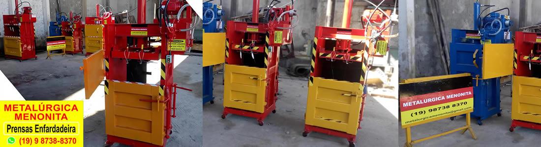 Prensa Para Reciclagem Modelo EV50
